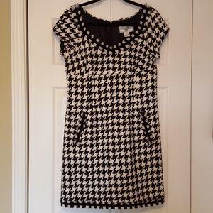 Jessica Howard houndstooth mini dress, size 10p